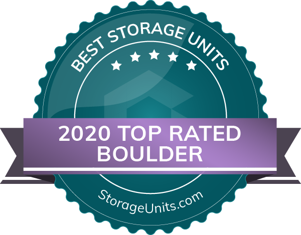 2020 Top Rated Storage Units Award
